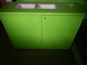 Like new wooden storage cabinet