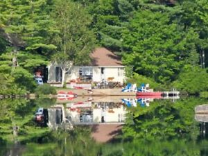 Beautiful Lake Cottage Rental On Spectacular Trout Lake