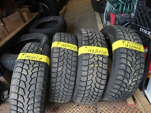 4 WINTER TIRE 195/60/R15 90% TREAD