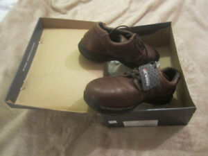 A New Size 12 Safety Steel Toe Shoes by Rockport for $80