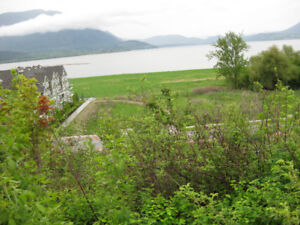 Waterfront Lot in Salmon Arm