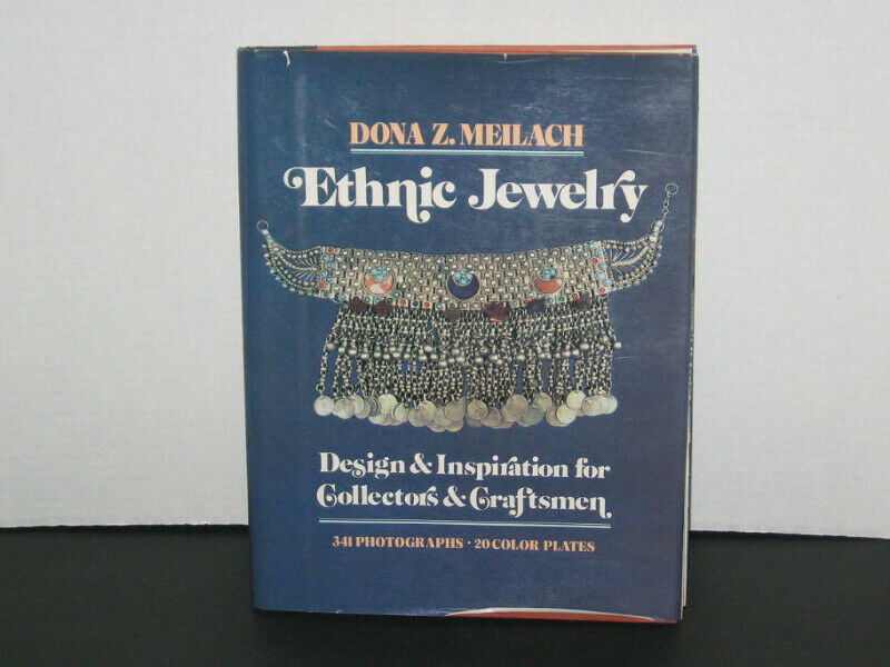 book Ethnic Jewelry Design & Inspiration for Collectors & Craftsmen by Meilach