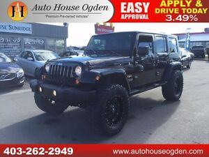 2007 Jeep Wrangler Sahara LIFTED RIMS EXHAUST 90DAYSNOPYMNT!