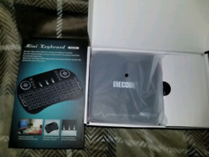 Android TV Box w/ Voice Control Feature & Rechargeable Keyboard