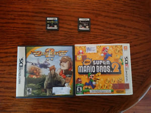 3DS and DS Games (Mario, Nanostray, Orcs & Elves...)