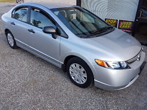 2008 Honda Civic DX-G Certified 2 YEARS WARRANTY Included London Ontario image 2