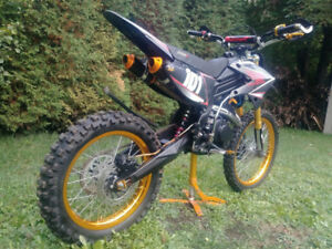 Motocross 250cc 4 temps starx exaust double, A1