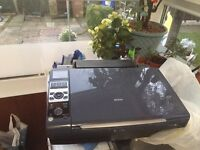 epson stylus dx8400 printer - scanner