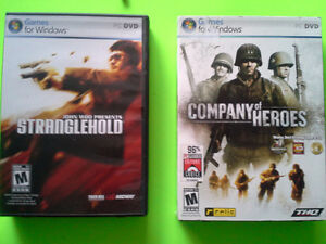 John Woo Stranglehold Company of heroes games for windows pc