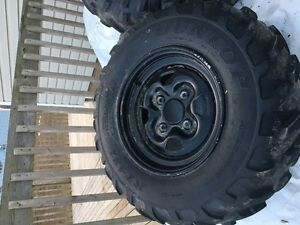 Yamaha Grizzly 700 stock rims & tires