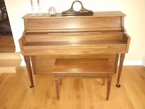 Currier solid wood piano for sale!
