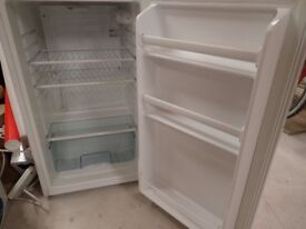 Proline undercounter white fridge