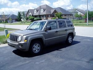 2008 JEEP PATRIOT LOCAL TRADE ACCIDENT FREE CERTIFIED!