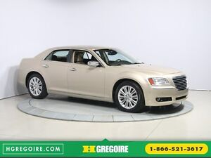 2012 Chrysler 300 Luxury Series AWD CUIR TOIT PANO NAV MAGS BLUE