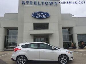 """2015 Ford Focus """"TATANIUM HATCH LTHR/MOON""""   - $149.83 B/W"""