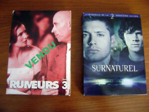 DVD: séries télé  SURNATUREL