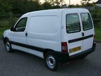 CITROEN BERLINGO 1.4 PETROL LX 600 E4 WHITE CLEAN NO VAT NEW MOT AND SERVICE !!