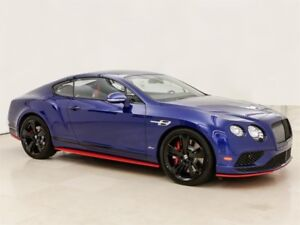 2017 Bentley Continental GT Speed Demo call for very special pri