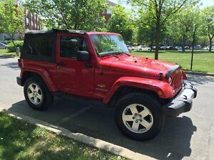 Jeep Wrangler Sahara  2 portes