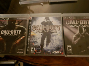 Call of duty ps3 3 for 20