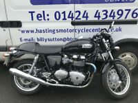 Triumph Thruxton 900 / Cafe Racer / Bonneville / Nationwide Delivery / Finance