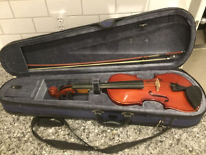 Ancona student model fiddle (with case and bow)