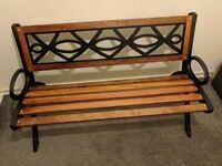 Refurbished to high standard, garden bench