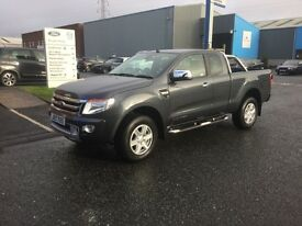 2015 (Aug) Ford Ranger Super Cab Limited Edition 3k miles 4x4