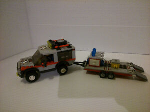 LEGO City Jeep and Trailer #4433