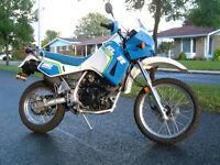 KLR 650, moto polyvalente, prix négociable