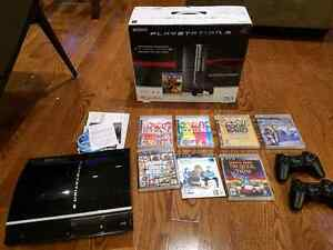 Ps3 playstation 3 with games
