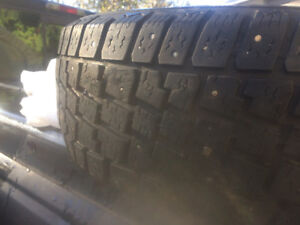 4 Winter Tires for $100