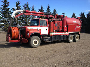 1991 Ford Hydro-Vac Combination Truck
