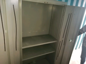 Metal Workshop Locking Cupboard