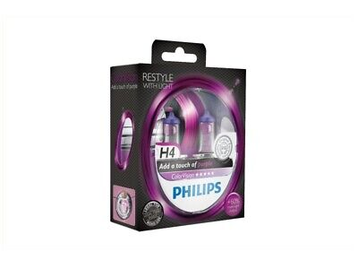 Philips | H4 ColorVision pink 55W (2 Stk.) (12342CVPPS2) für