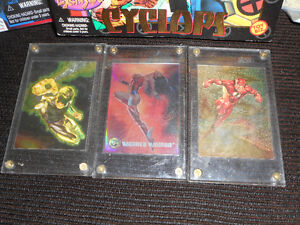 vintage marvel toys and collector hollofoil cards Kingston Kingston Area image 3