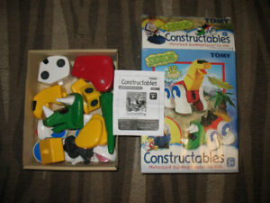 Tomy Constructables - Three Motorized Building Playsets