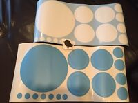 Baby room circle and dot decals