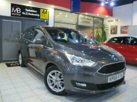 image for 2018 Ford Grand C-Max 1.0 EcoBoost 125 Zetec 7 Seats *SAT NAV* +14 DAY MONEY BAC