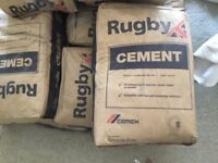 9 x 25 kg bags of cement