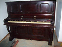 Old Wadsworth Upright Piano