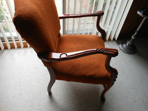 French Provincial Chair very solid