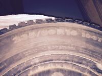 Nokian 2 winter tires, 235/60 R16, fits Hyundai Tucson.