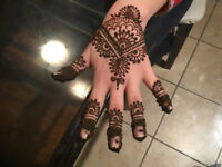 Henna for ladies and kids