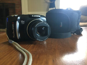 Canon PowerShot SX120 IS Camera
