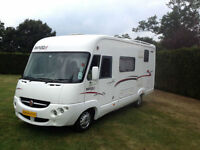 Rapido 9048DF. 2008, Sleeps 4 with 4 Seat Belts, Urgent Viewing Recommend,