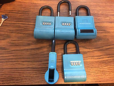 5 Shurlok Key Storage Locks-- Lock Box Real Estate Realtor Lockbox Landlord