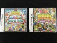 Nintendo DS Moshi Monsters Moshling Zoo & Moshlings Theme Park