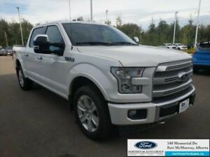 2017 Ford F-150 Platinum|5.0L|Rem Start|Nav|Twin Panel Moonroof|