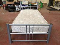 Single Bed frame & Single Mattress